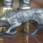 "Антикварное серебро 925 пробы ""На охоте"""