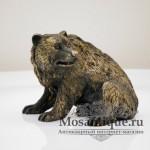 """Венская бронзовая скульптура """"Бурый Медведь"""""""