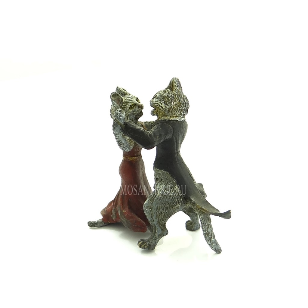 """Статуэтка """"Танец Кота и Кошки"""""""