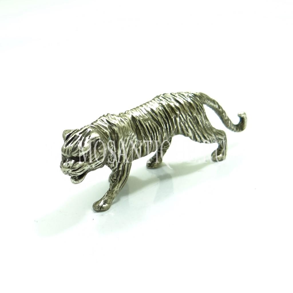 """Статуэтка из серебра """"Тигр"""""""
