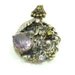 Старинное серебряное украшение