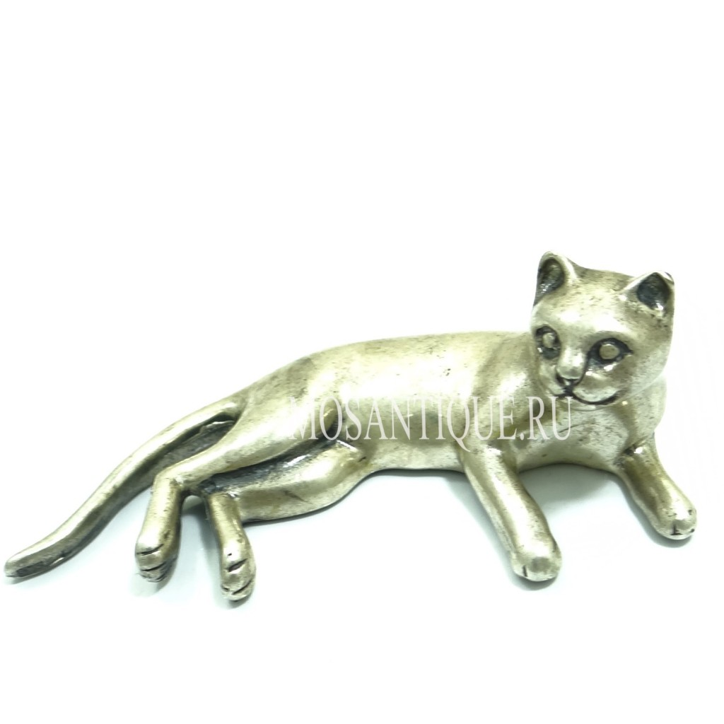 """Кот""- старинное серебро"