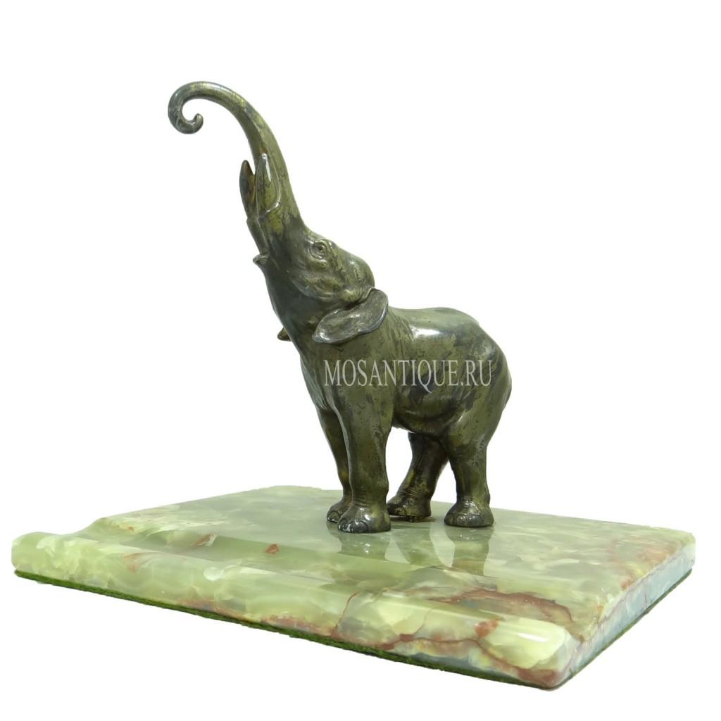 """Подставка под ручку и подчасник """"Слон"""". Elephant Pen/Watch Stand."""