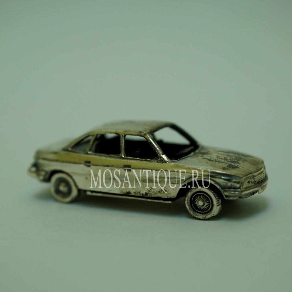 Модель Машины NSU Ro 80 |Серебро 925 Пробы