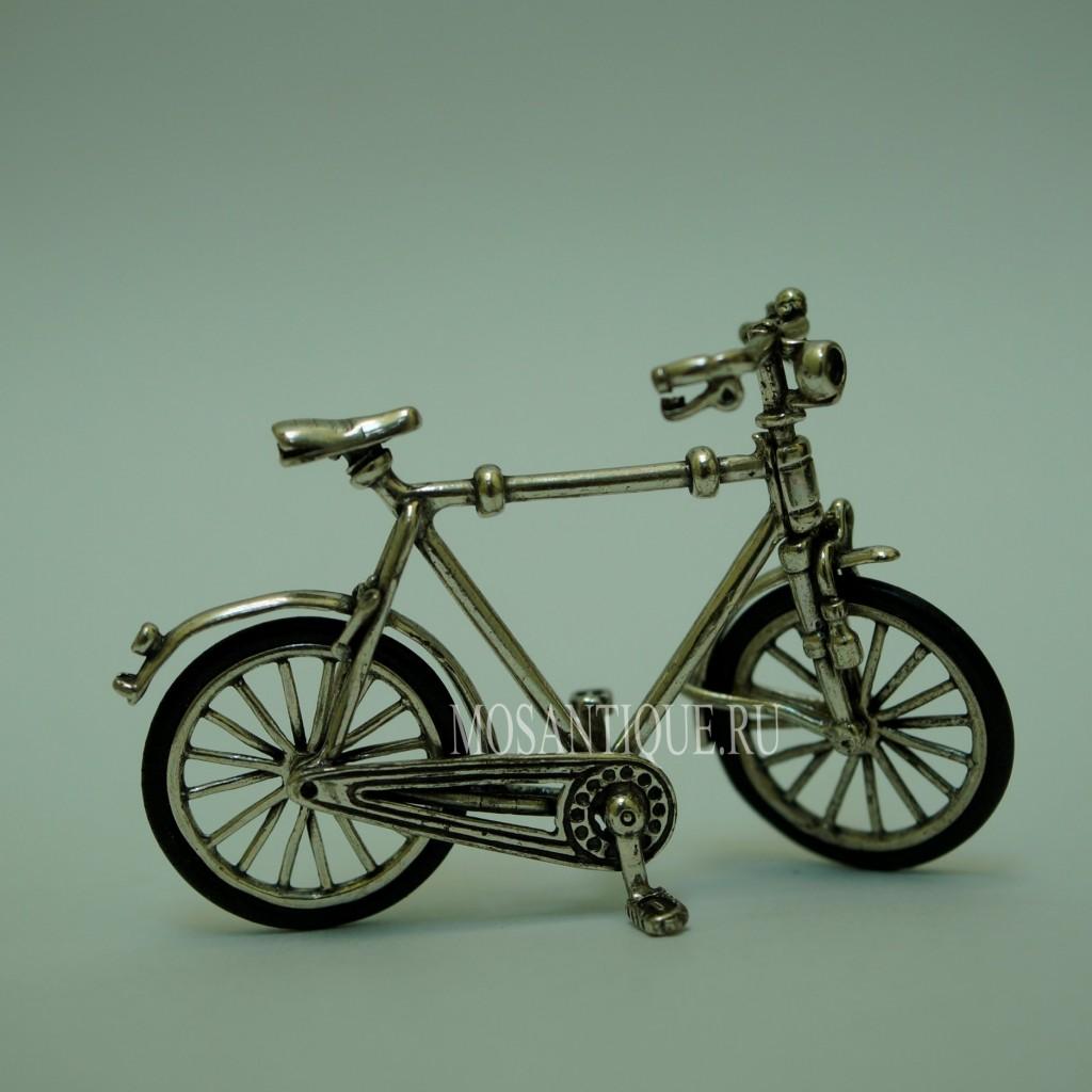Модель Велосипеда |Серебро