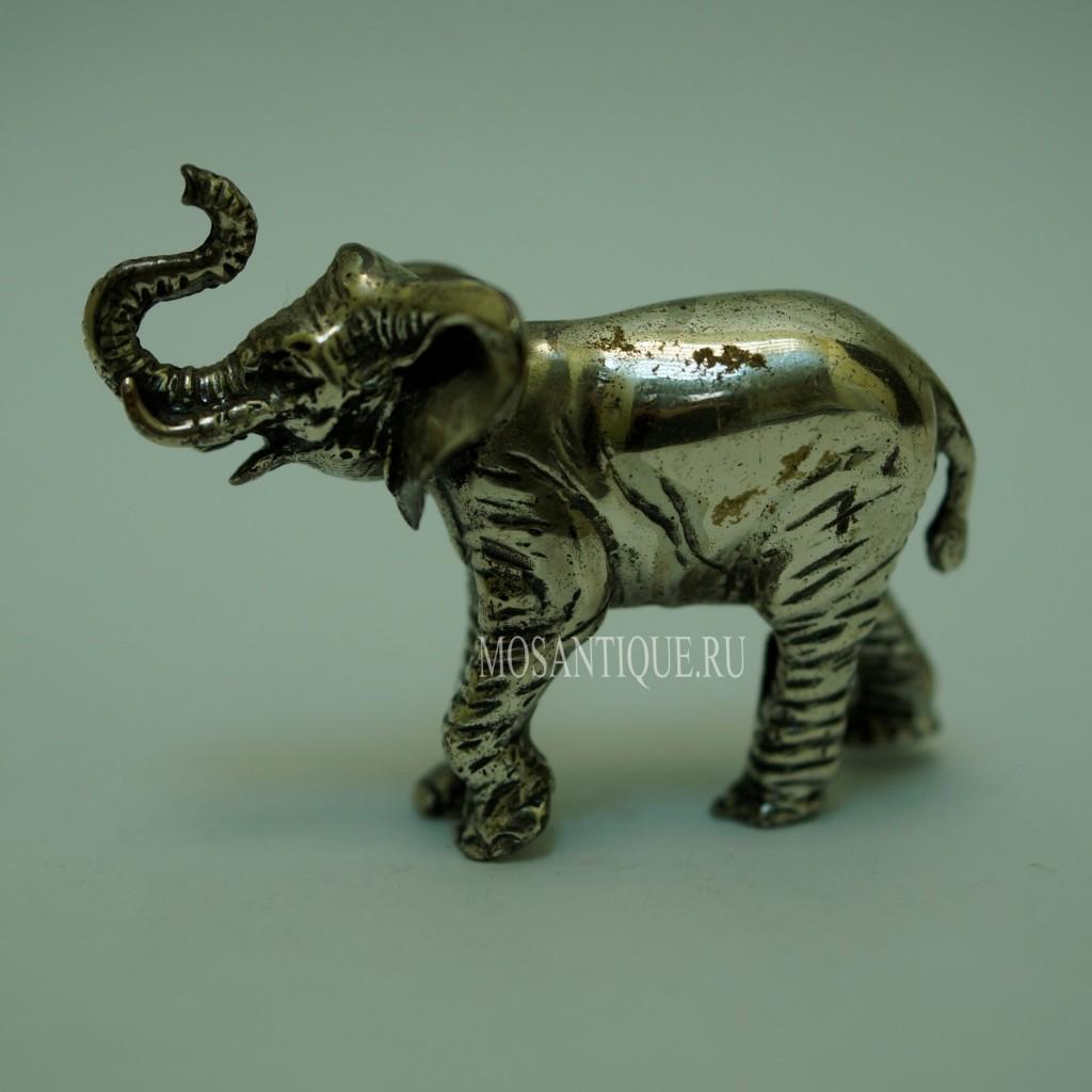 Статуэтка Слона |Серебро 925 Пробы