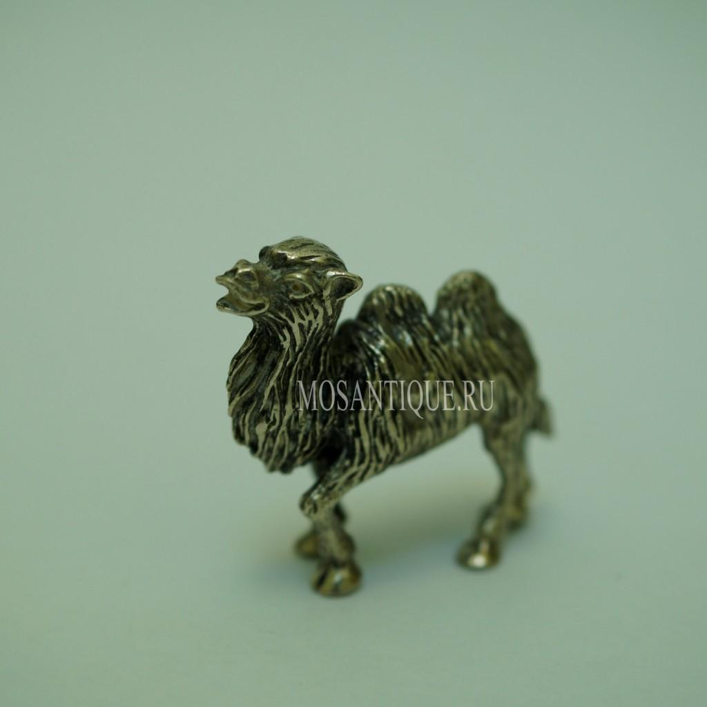Фигурка Верблюда |Серебро 800 Пробы