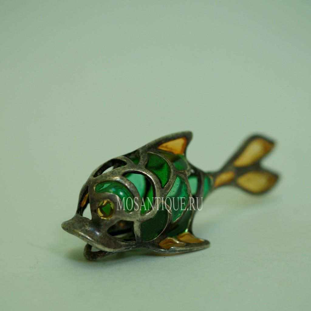 Статуэтка Рыбы |Серебро 925 Пробы