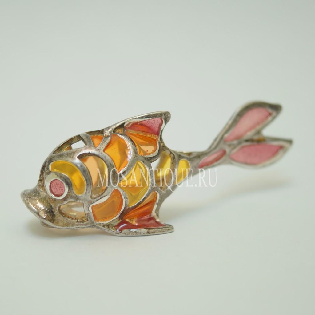 Фигурка Рыбы |Серебро 925 Пробы