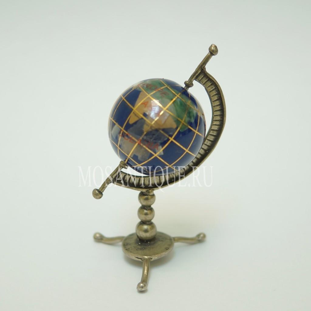 Миниатюра Глобуса|Серебро