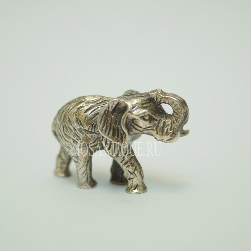 Статуэтка Слоника |Серебро 800 Пробы