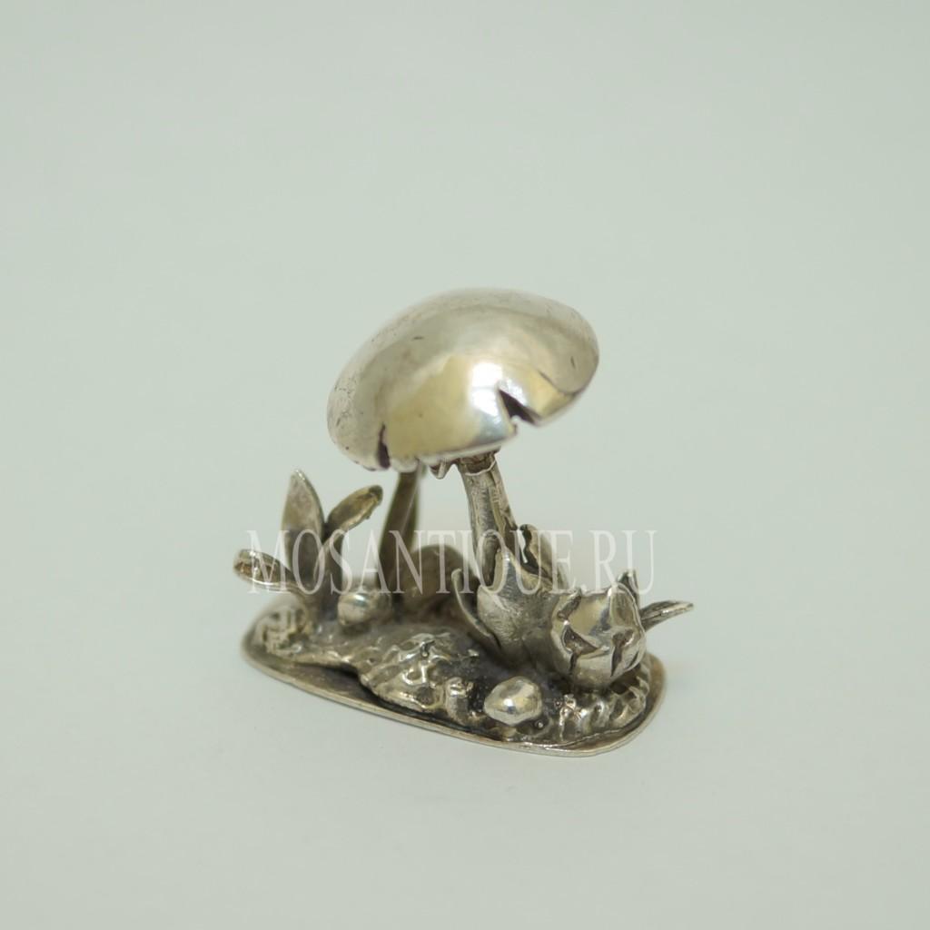 Фигурка грибов |Серебро