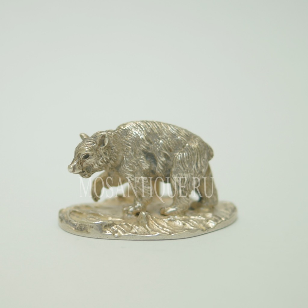 Фигурка Медведя|Серебро