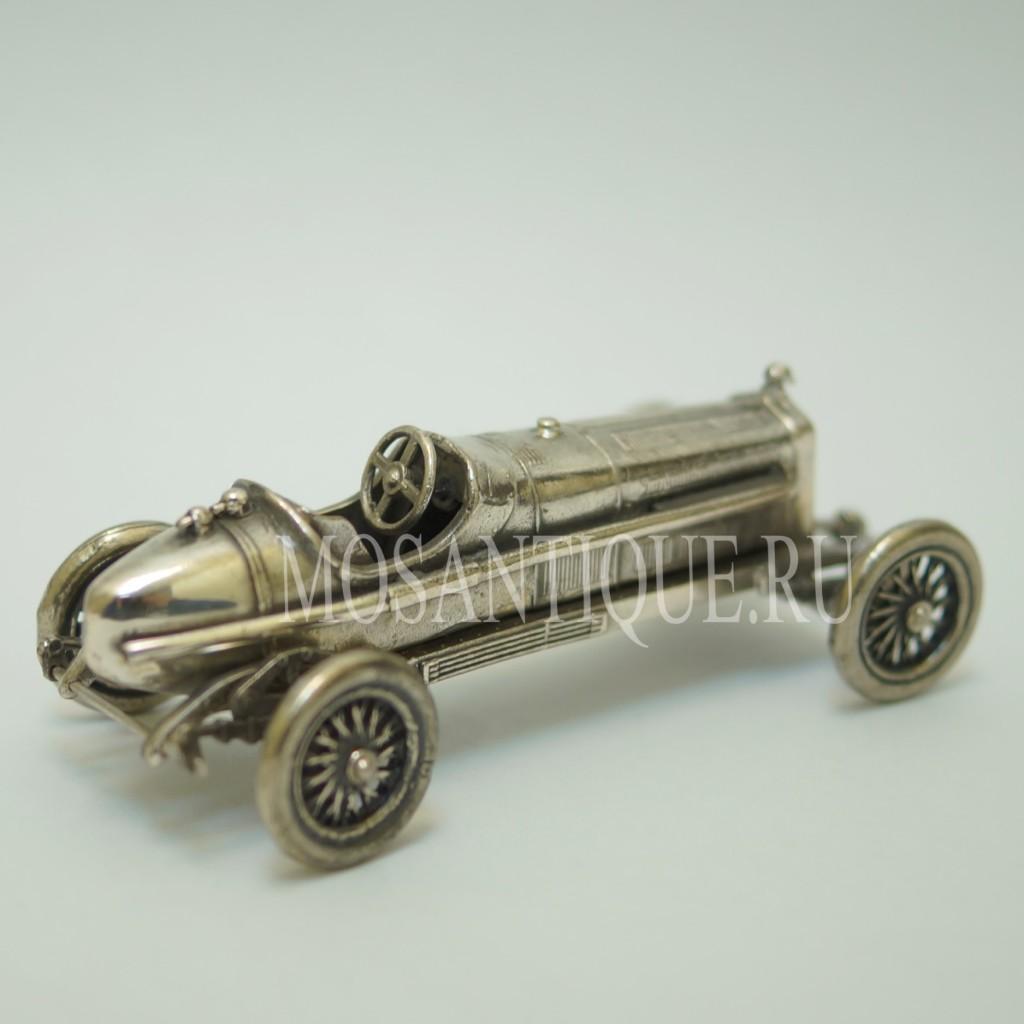 Модель Машины Alfa Romeo |Серебро