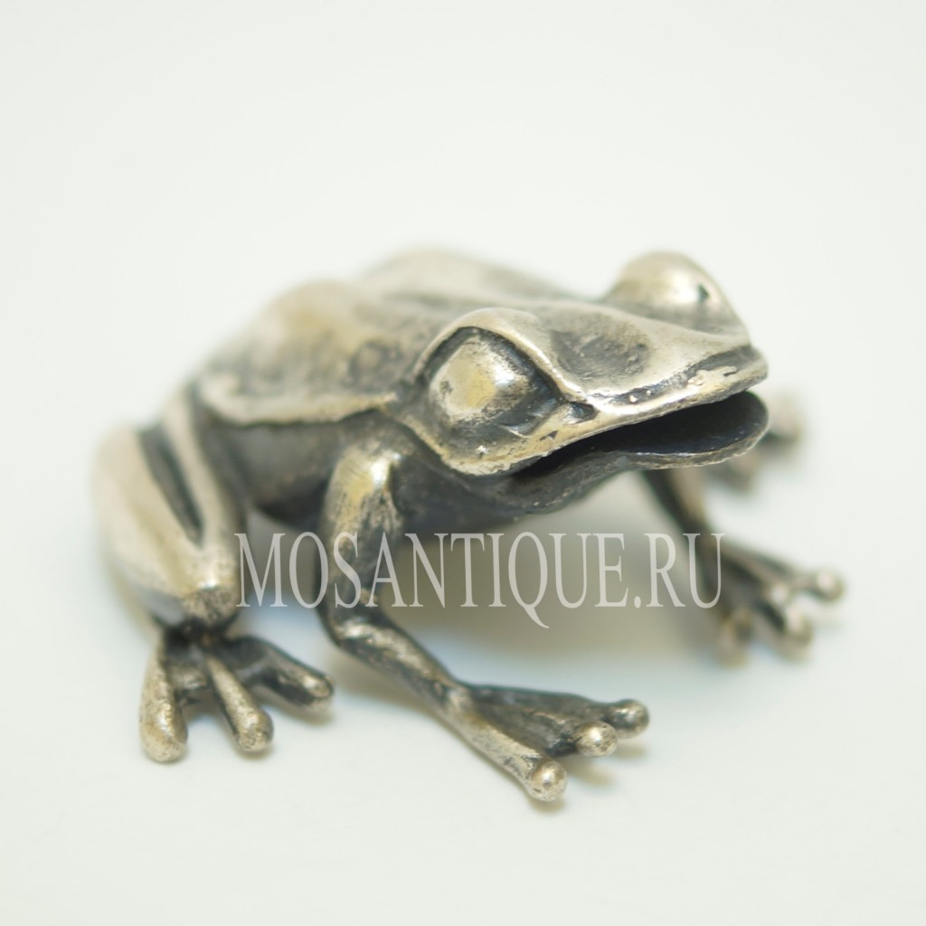 Фигурка Лягушки |Серебро 800 Пробы