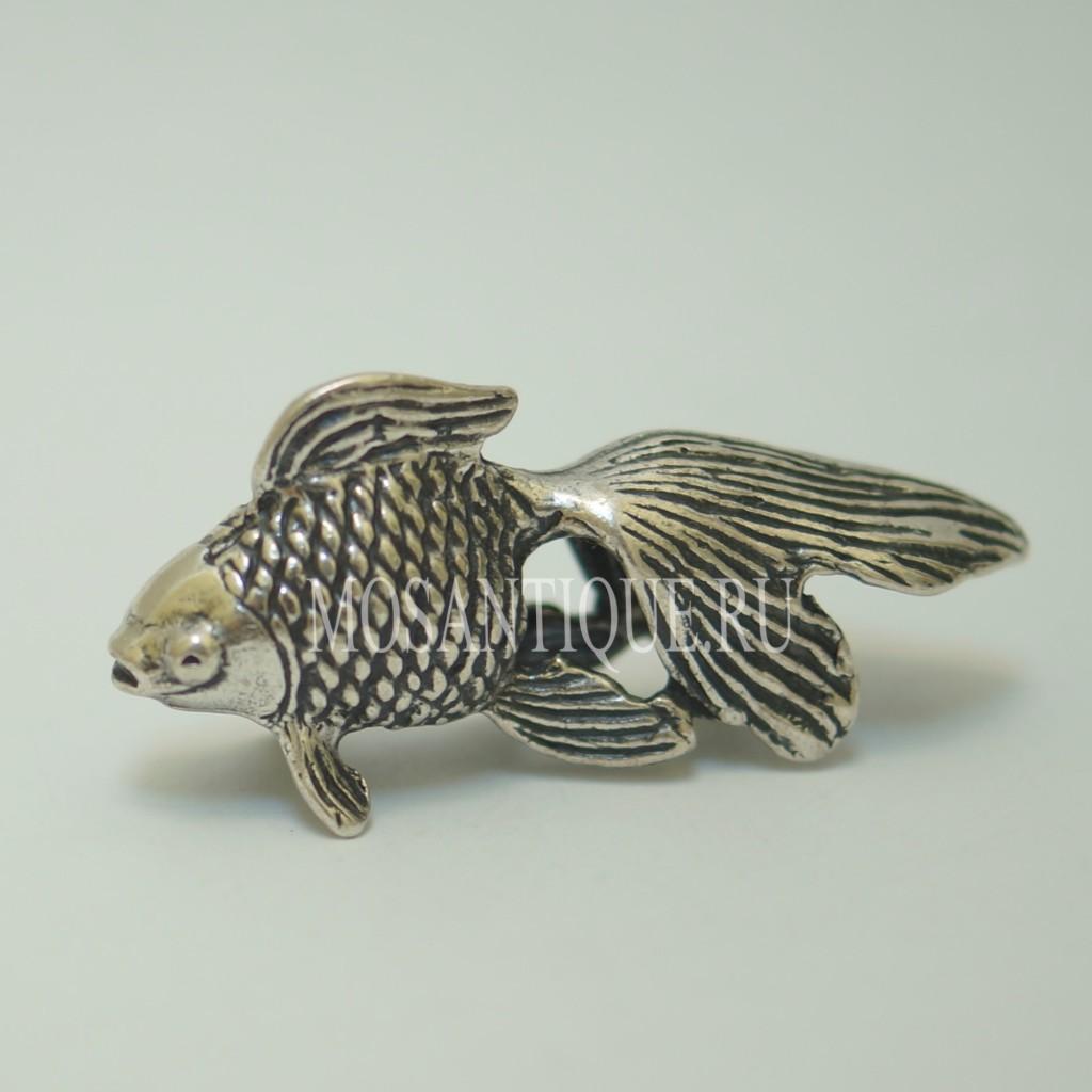 Статуэтка Золотая Рыбка |Серебро