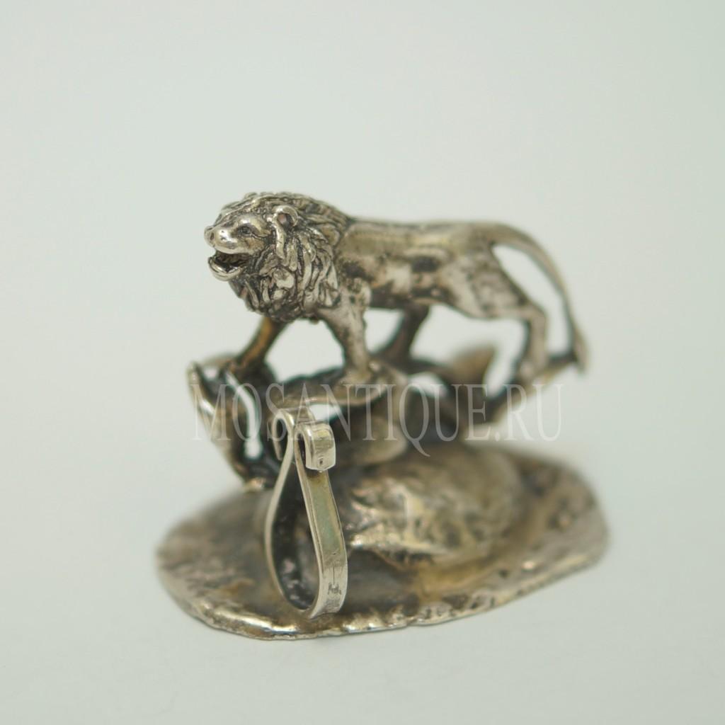 Фигурка Льва |Серебро