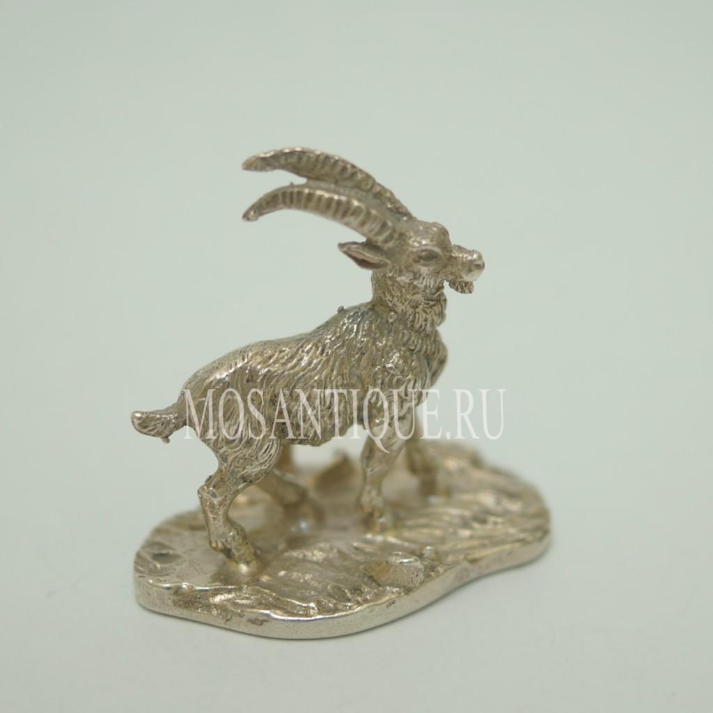 Статуэтка Козла |Серебро 800 Пробы