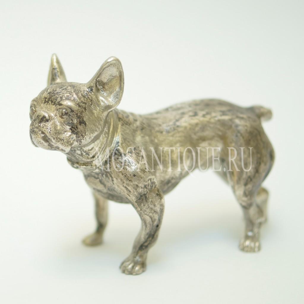 Фигурка Собаки «Французский Бульдог» |Серебро