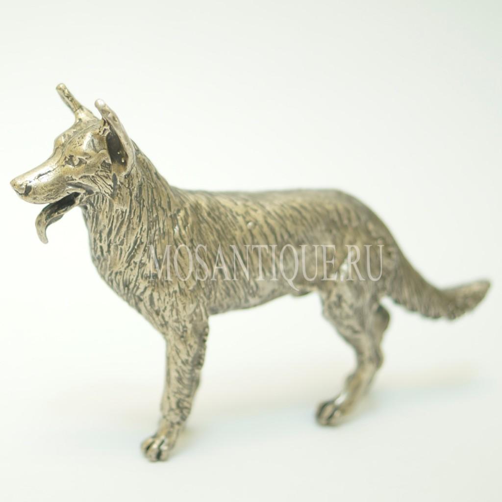 Статуэтка Овчарка |Серебро