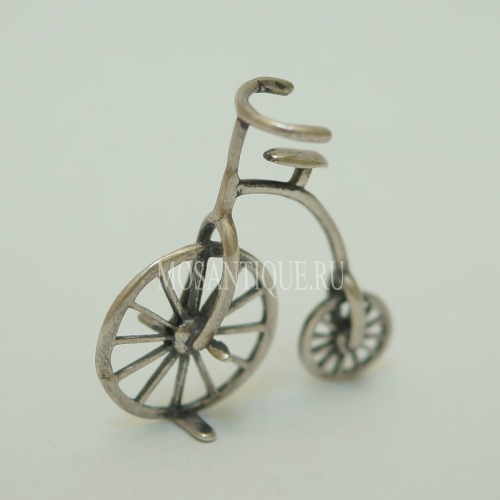 Модель Велосипеда «Пенни-фартинг» |Серебро