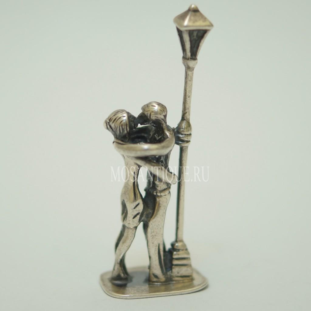 Статуэтка Влюбленных |Серебро 925 Пробы