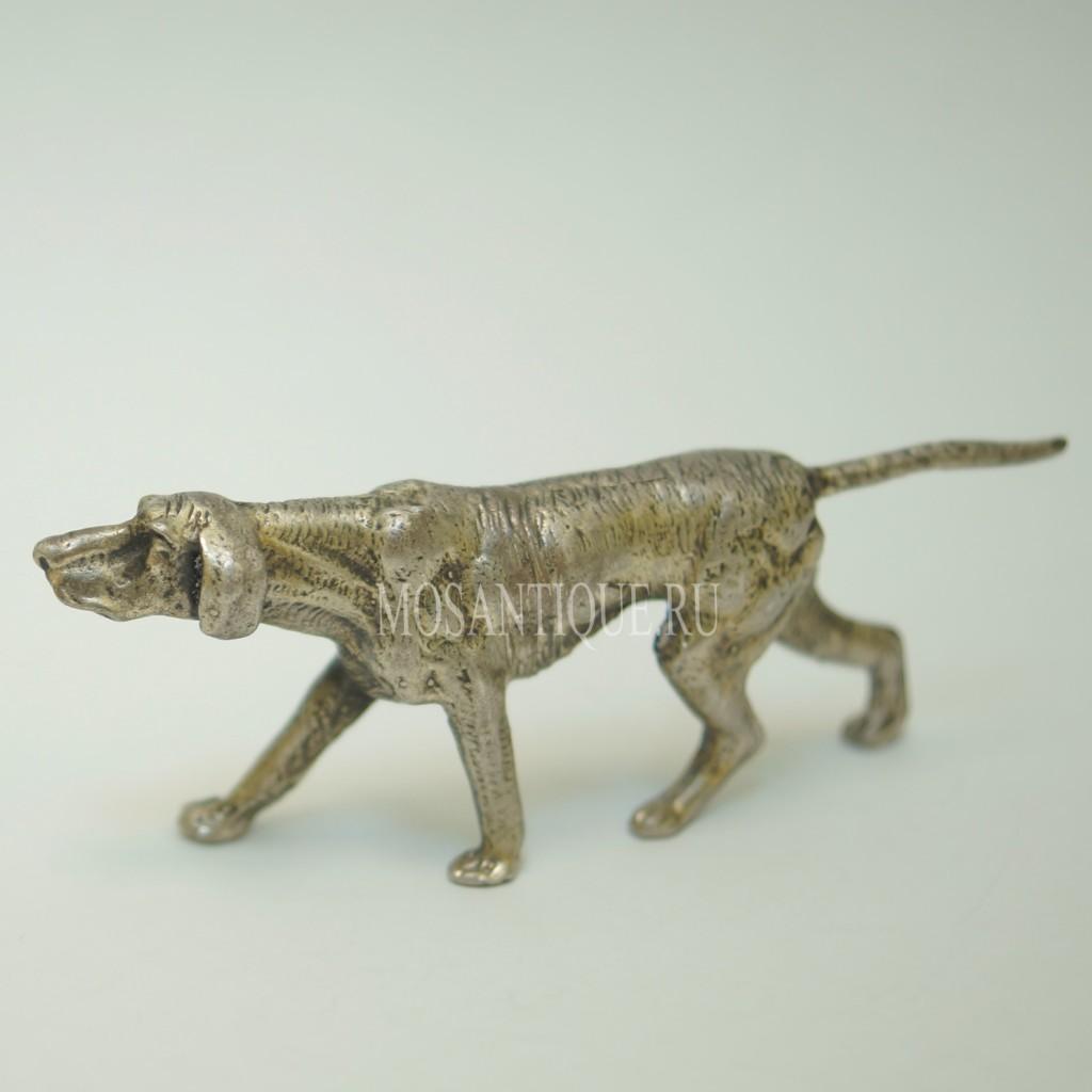 Фигурка Собаки «Пойнтер» |Серебро