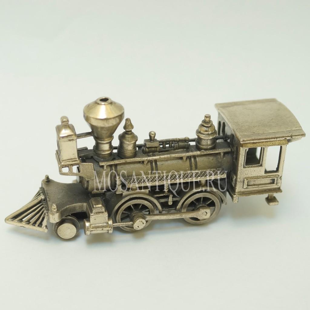 Серебряная Модель Поезда