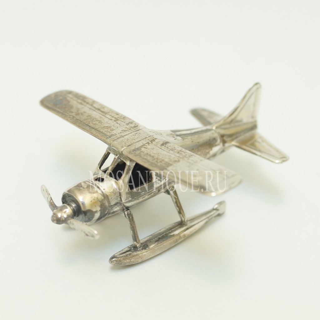 Модель Самолета |Серебро 925 Пробы
