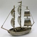 Модель Парусного Корабля | Серебро