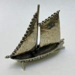 Модель Парусной Лодки | Серебро