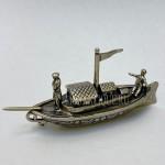 Модель Речной Лодки | Серебро