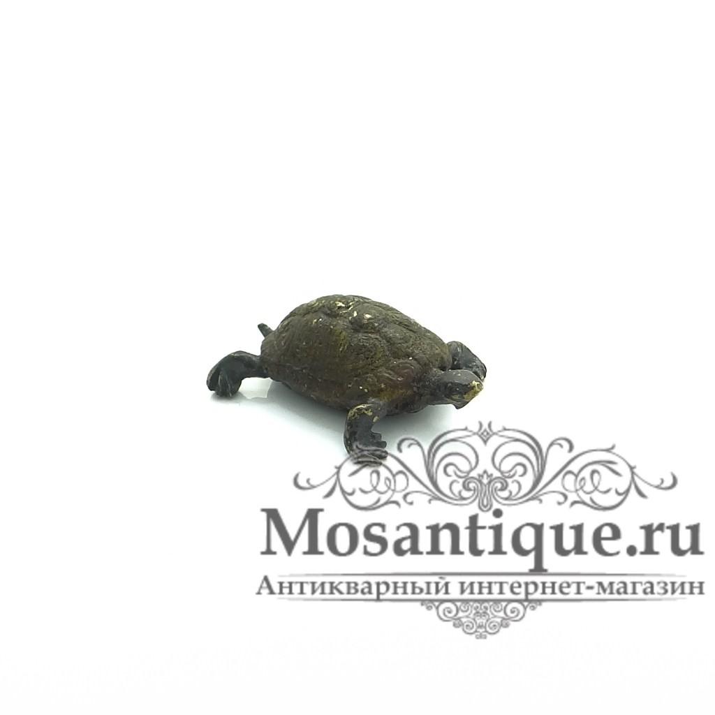 """Венская бронзовая миниатюра """"Черепаха"""""""
