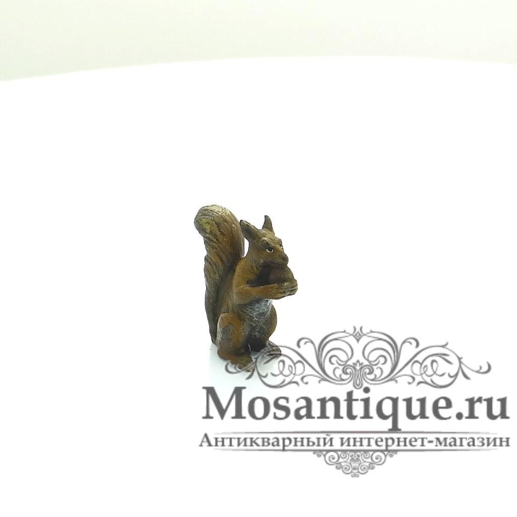 """Венская бронзовая миниатюра """"Белка"""""""