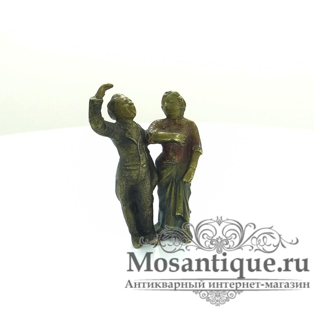 """Венская бронзовая миниатюра """"Оперные певцы"""""""