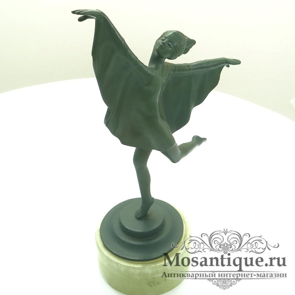 "Венская бронзовая скульптура ""Танцовщица"""