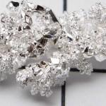 Фотография кристаллов серебра