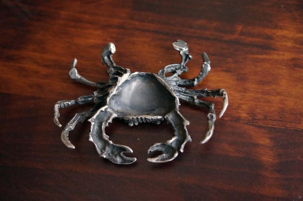 Фото серебряного краба