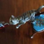 Кот-охотник в Венской бронзе