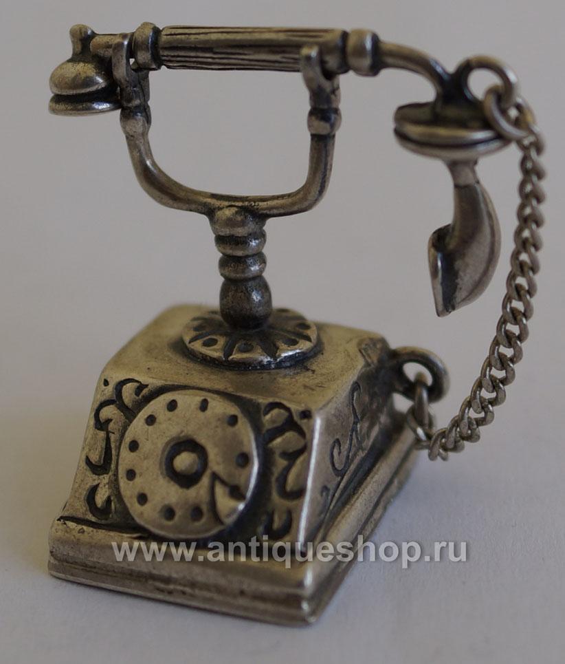 "Фото изделия из серебра ""Телефон"""