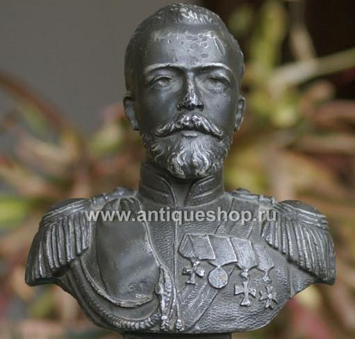 Статуэтка старинная Николай 2