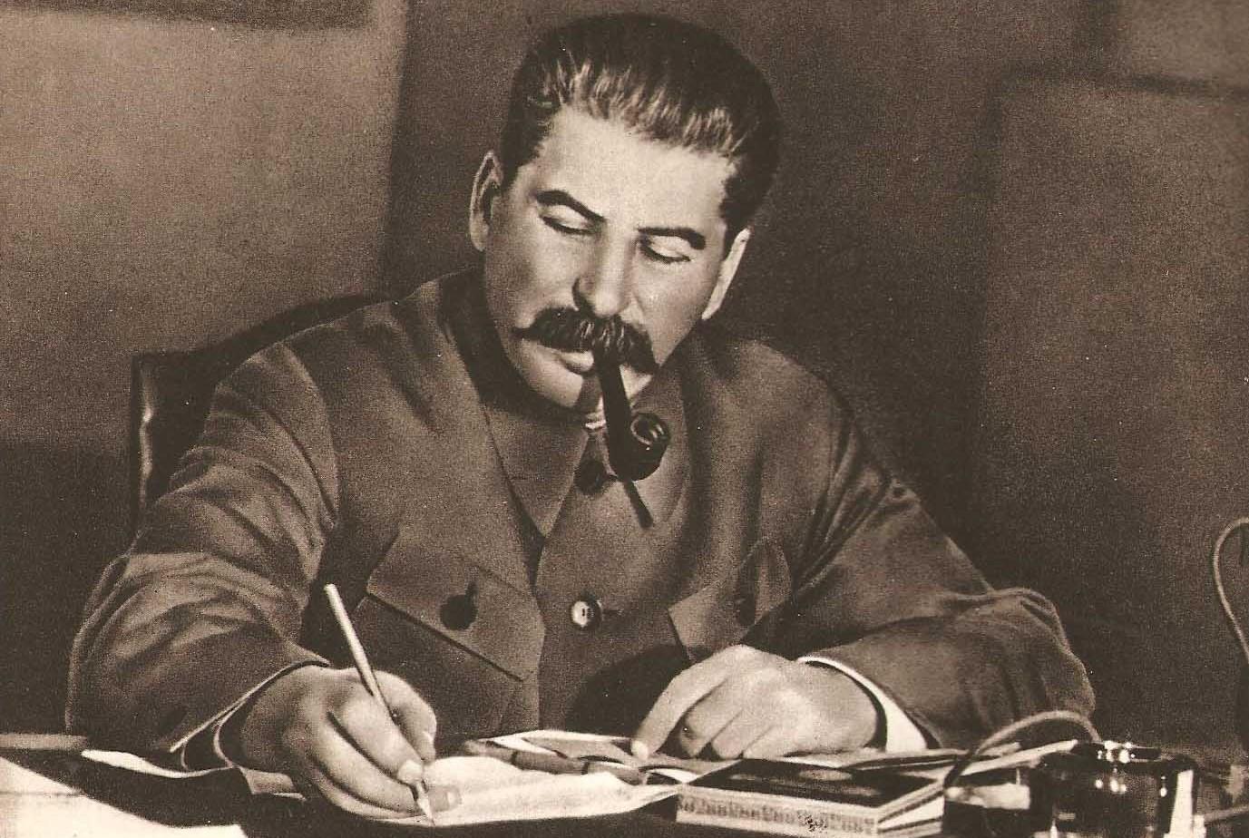 "Фото ""Сталин за работой"""