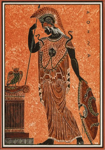 Афина и сова