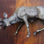 Один из оленей. Венская бронза