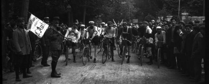 Старт Тур де Франс 1907-ого года