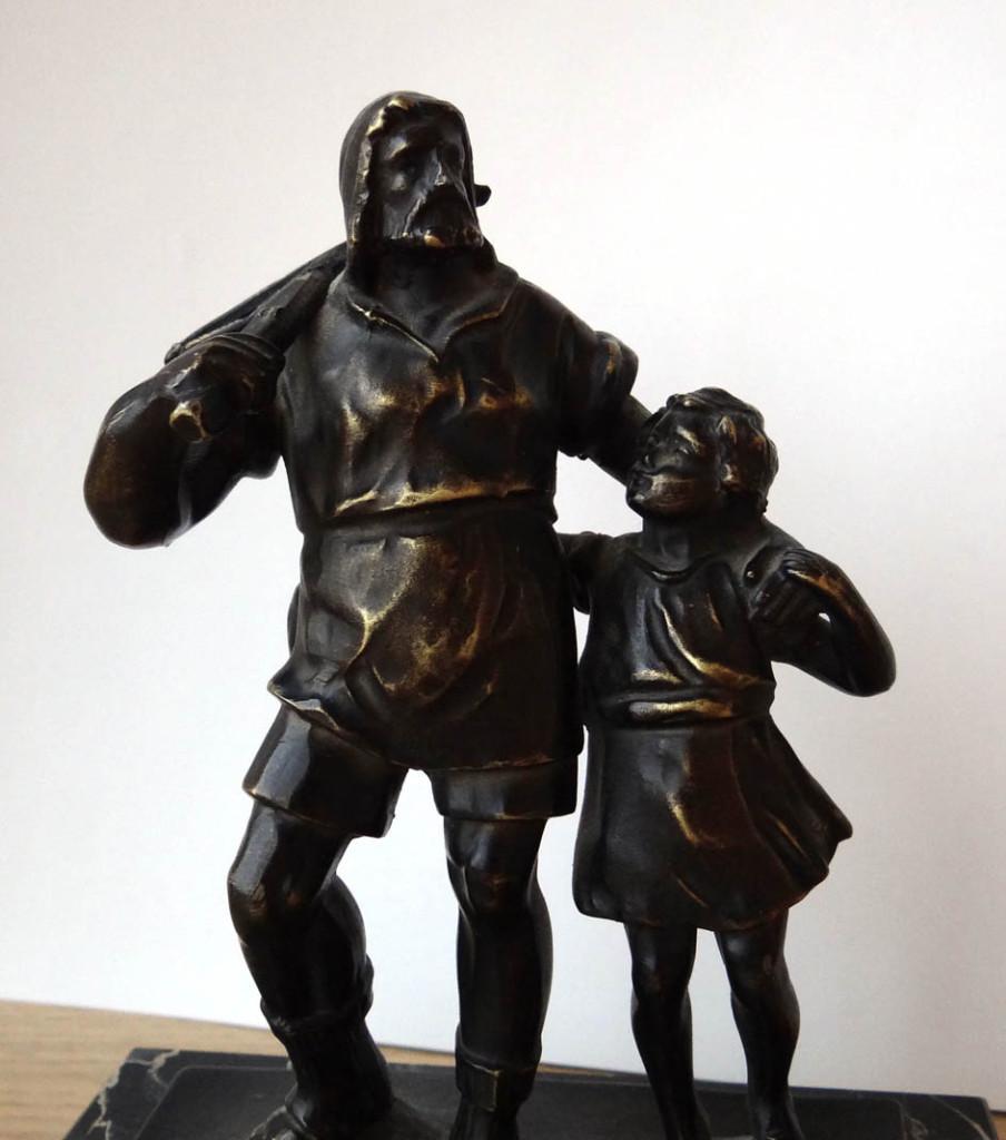 """Бронзовая Скульптура """"Вильгельм Телль"""""""