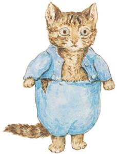 """Кот из """"Сказок кролика Питера"""""""