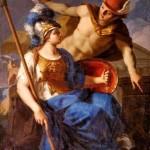 """картина """"Меркурий призывает Минерву защищать Искусства"""""""
