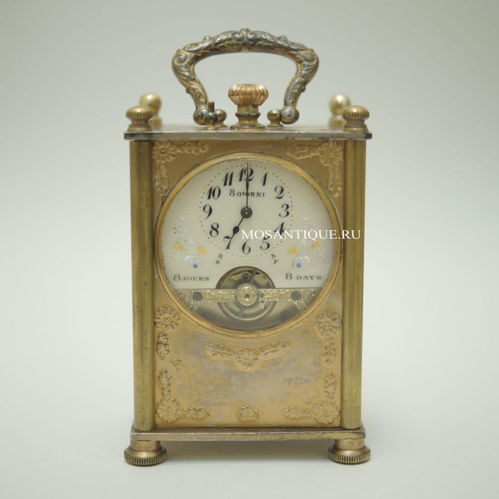 Антикварные часы с восьмидневным запасом хода