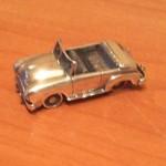 Автомобиль из серебра 925 пробы